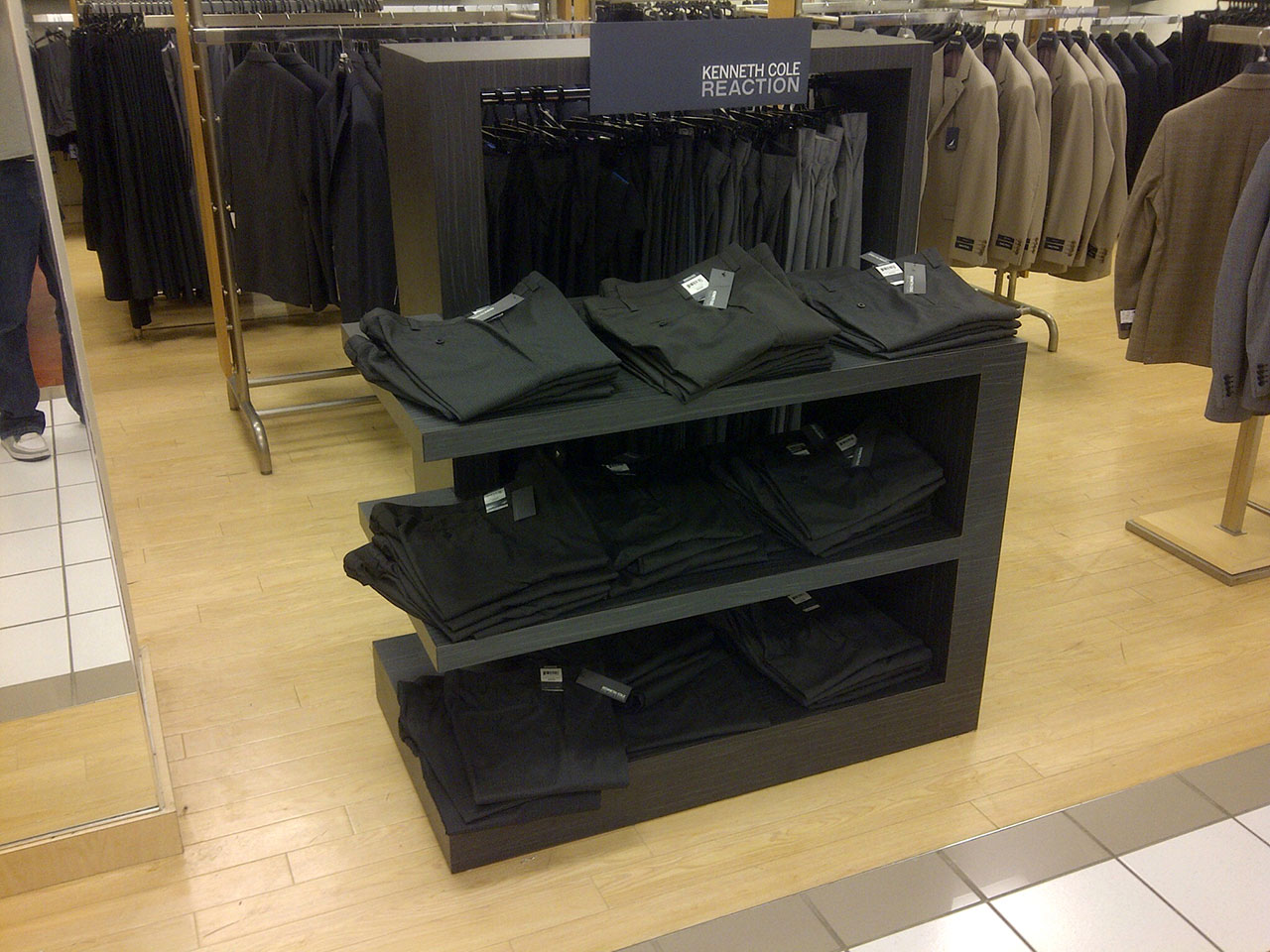 Clothing Merchandisers